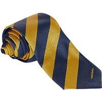 Colfe's School Boys' Football Tie, Navy Blue/Gold