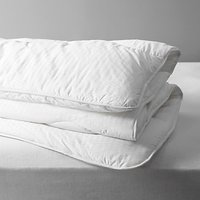 John Lewis and Partners Synthetic Collection Breathable Microfibre Duvet, 10.5 Tog