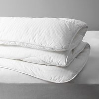 John Lewis and Partners Synthetic Collection Breathable Microfibre Duvet, 13.5 Tog