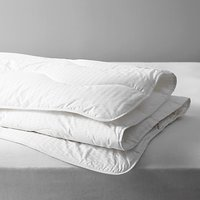 John Lewis and Partners Synthetic Collection Breathable Microfibre Duvet, 2.5 Tog