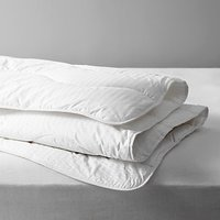 John Lewis and Partners Synthetic Collection Breathable Microfibre Duvet, 4.5 Tog