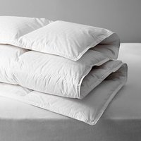 John Lewis and Partners Natural Collection Siberian Goose Down Duvet, 13.5 Tog
