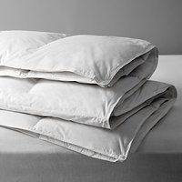 John Lewis Natural Duck Feather and Down Duvet, 13.5 Tog (4.5 + 9 Tog) All Seasons