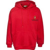 St Joseph's College Unisex Hooded Sweatshirt, Red