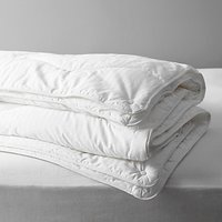 John Lewis and Partners Synthetic Collection Breathable Microfibre Duvet, 13.5 Tog (9 + 4.5 Tog) All Seasons