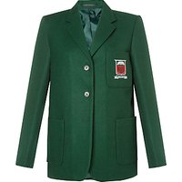 Moorfield School Unisex Blazer, Bottle Green