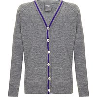 School Girls Cardigan, Grey