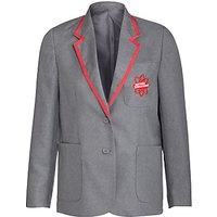 East London Science School Girls' Blazer, Grey