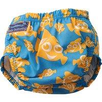 Konfidence Clown Fish Aqua Swim Nappy, Blue