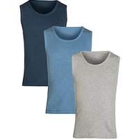 John Lewis Boy Vests, Pack of 3, Multi