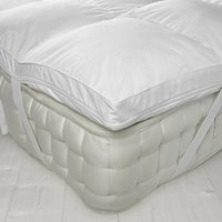 John Lewis Luxury Memory Foam with Microfibre Mattress Topper