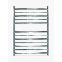 John Lewis Sandsend Central Heated Towel Rail and Valves, from the Floor