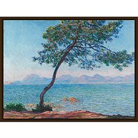 The Courtauld Gallery, Claude Monet - Antibes 1888 Print