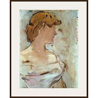 The Courtauld Gallery, Edouard Manet - Au Bal - Marguerite de Conflans en Toilette de Bal 1887-1880