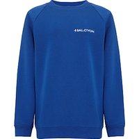 Halcyon London International School Unisex Sweatshirt, Royal Blue