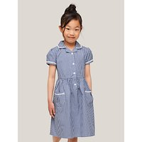John Lewis and Partners Gingham Cotton School Summer Dress