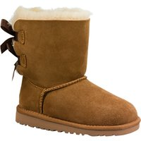 UGG Childrens Bailey Bow Boots, Chestnut