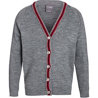 The Prebendal School Cardigan, Grey