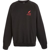 Jane Austen College Sweatshirt, Black