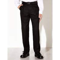 David Luke Senior Regular Fit Eco-Trousers with Belt