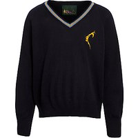 Thomson House School V-Neck Jumper, Navy