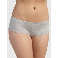 John Lewis & Partners 5 Pack Modal Shorts, Grey Marl