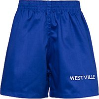 Westville House School Games Shorts, Royal Blue
