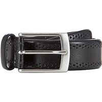 shop for John Lewis & Partners Made In Italy Brogue Belt at Shopo