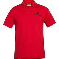 The Cedars School Sports Polo Shirt, Red