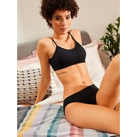 John Lewis 5 Pack Pima Cotton Bikini Briefs, Multi