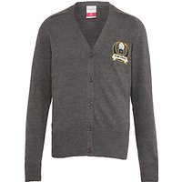 Islamia Girls School Cardigan, Grey