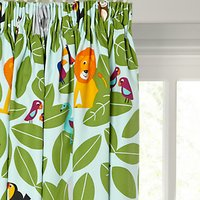 little home at John Lewis Animal Fun Pencil Pleat Blackout Lined Childrens Curtains