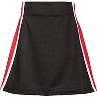 Little Heath School Girls Skort, Black/Multi