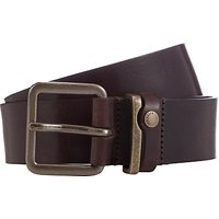 Ted Baker Katchup Leather Belt, Chocolate