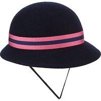 St Martins School Winter Hat, Navy/Pink