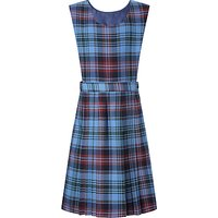 Howells School Girls Tartan Tunic Dress, Blue/Multi