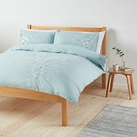 John Lewis & Partners Easy Care Chinese Blossom Duvet Cover and Pillowcase Set