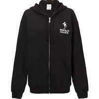 Howells College Unisex Hooded Top, Black