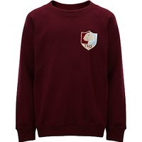 Tockington Manor School Sweatshirt, Maroon