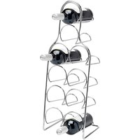 Hahn Pisa Metal Wine Rack, Chrome