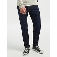 Scotch & Soda Cotton Ralston Touchdown Jeans, Dark Wash