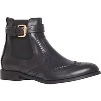 Carvela Slow Leather Chelsea Boots, Black