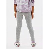 John Lewis & Partners Girls' Basic Leggings, Grey