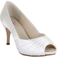 Rainbow Club Sophie Peep Toe Court Shoes, Ivory