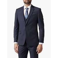 Richard James Mayfair Pick and Pick Suit Jacket, Navy