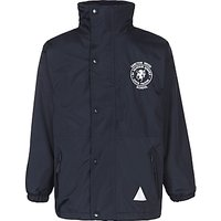Sancton Wood School Waterproof Coat, Navy