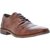 Dune Boycy Leather Lace-up Shoes, Tan