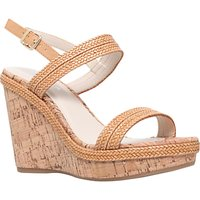 Carvela Kay High Wedge Heeled Sandals, Tan