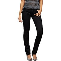 AG The Harper Straight Cut Jean, Black Overdye