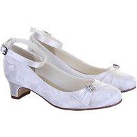 Rainbow Club Mint Bridesmaid Shoes, White Communion